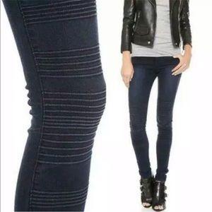J Brand   Willow Verve Moto Skinny Jeans